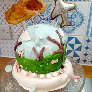 EDS UK Bake-In Elsa and Barney cake main